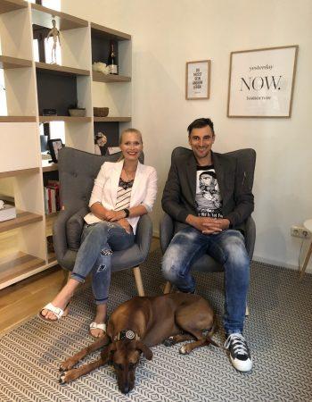 Die beiden Gründer von Logether GmbH Julia Tärrer und Marcel Prast