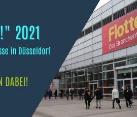 """""""Flotte!"""" 2021 – die riesige Fuhrparkmesse in Düsseldorf und wir waren dabei!"""